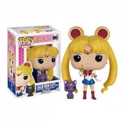 Figura Funko Pop Sailor Moon With Moon Stick & Luna