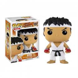 Figura Funko Pop Street Fighter Ryu White Headband - Exclusiva