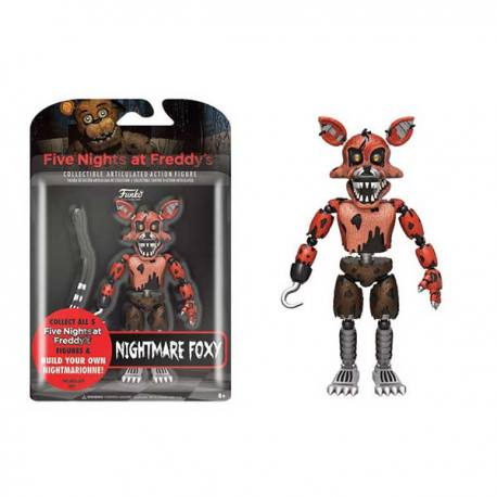 Figura Articulada Five Nights at Freddy's Nightmare Foxy - Funko