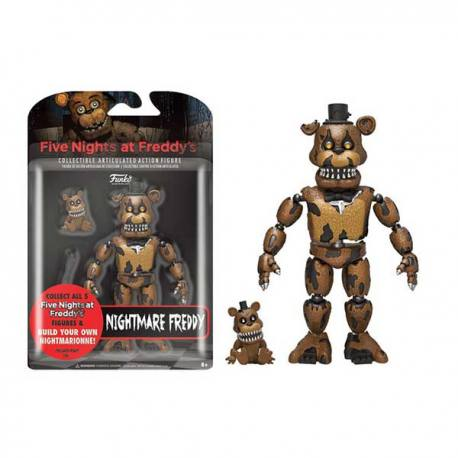 Figura Articulada Five Nights at Freddy's Nightmare Freddy - Funko