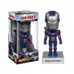 Figura Bobble Head Iron Man 3 Iron Patriot - Funko