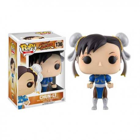 Figura Funko Pop Street Fighter Chun-Li