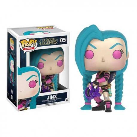 Figura Funko Pop League Of Legends Jinx