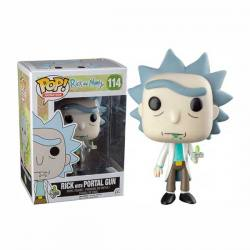 Figura Funko Pop Rick And Morty Rick With Portal Gun - Exclusiva