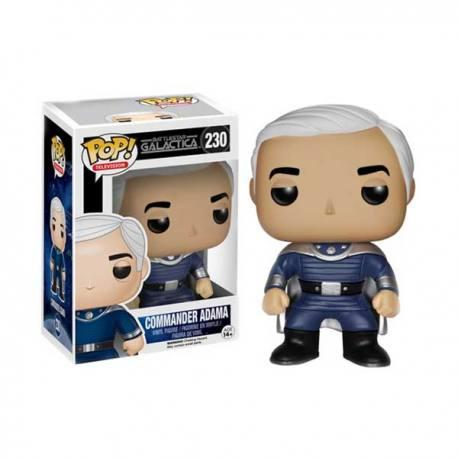 Figura Funko Pop Battlestar Galactica Commander Adama