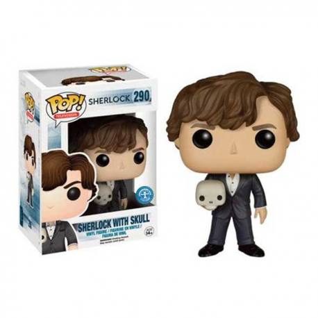 Figura Funko Pop Sherlock With Skull