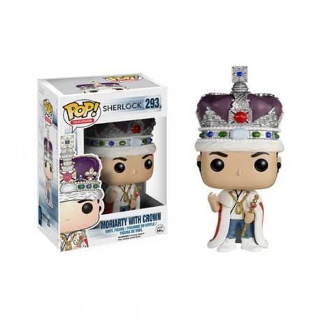 Figura Funko Pop Sherlock Moriarty With Crown