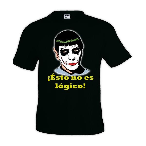Camiseta Star Trek Spok - No Es Lógico