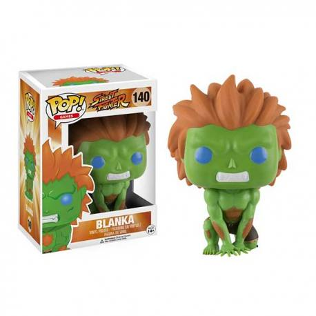 Figura Funko Pop Street Fighter Blanka