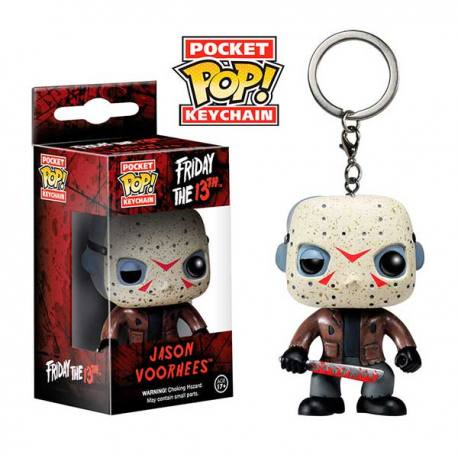 Llavero Pocket Pop Viernes 13 Jason Voorhees - Funko