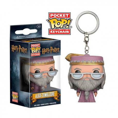Llavero Pocket Pop Harry Potter Albus Dumbledore - Funko