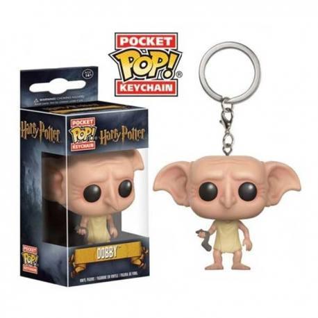 Llavero Pocket Pop Harry Potter Dobby - Funko