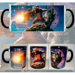 Taza Guardianes de la Galaxia Groot y Rocket