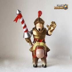 Figura Clash Royale Principe Rojo