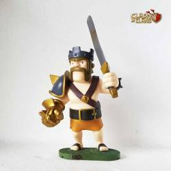 Figura Clash of Clans Rey Barbaro
