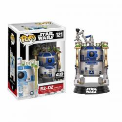 Funko Pop Star Wars R2-D2 Jabba's Skiff - Exclusiva