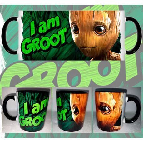 Taza Guardianes de la Galaxia Yo soy Groot