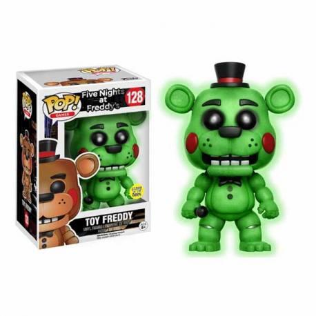 Figura Funko Pop FNAF Toy Freddy - Brilla En La Oscuridad