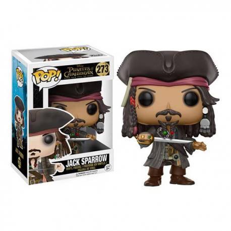 Figura Funko Pop Piratas del Caribe Jack Sparrow