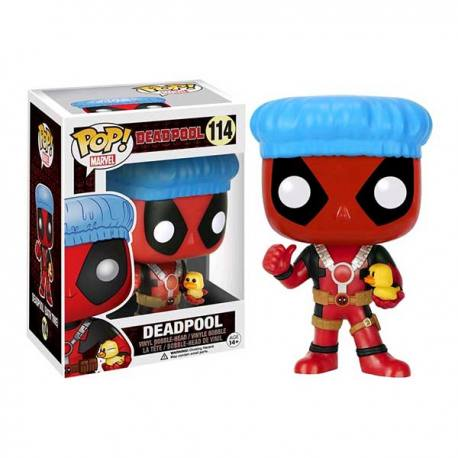 Figura Funko Pop Deadpool Gorro Baño - Exclusiva