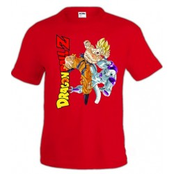 Camiseta Dragon Ball Z Goku Vs Freezer