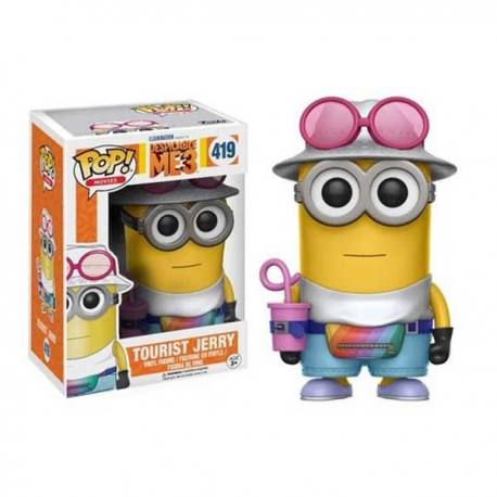 Figura Funko Pop Tourist Jerry - Mi Villano Favorito 3