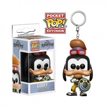 Llavero Pocket Pop Kingdom Hearts Goofy - Funko