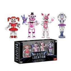 Set Figuras Five Nights at Freddy's Sister Location - Funko