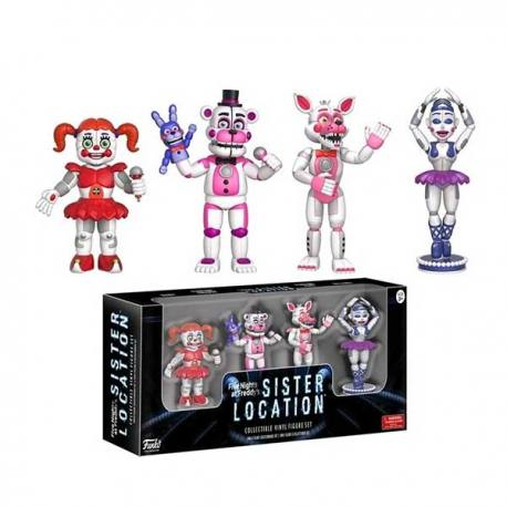 Set Figuras Five Nights at Freddy's Sister Location - Funko