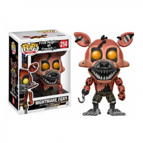 Funko Pop Five Nights at Freddy's Nightmare Foxy - Series 2