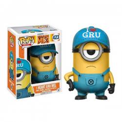 Funko Pop I Heart Gru Mel - Mi Villano Favorito 3 - Exclusiva