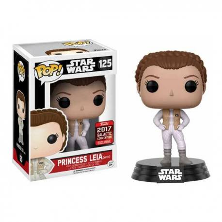 Figura Funko Pop Star Wars Princesa Leia Hoth - Exclusiva 2017