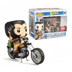 Figura Funko Pop Rides X-Men Wolverine's Motorcycle - Exclusiva