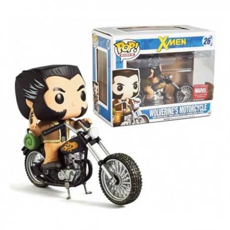 Figura Funko Pop Rides X-Men Wolverine's Motorcycle - Exclusiva