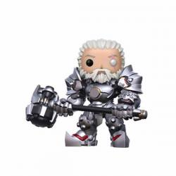 Figura Funko Pop Overwatch Reinhardt Unmasked - Exclusiva