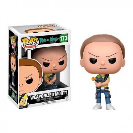 Figura Funko Pop Rick And Morty Weaponized Morty