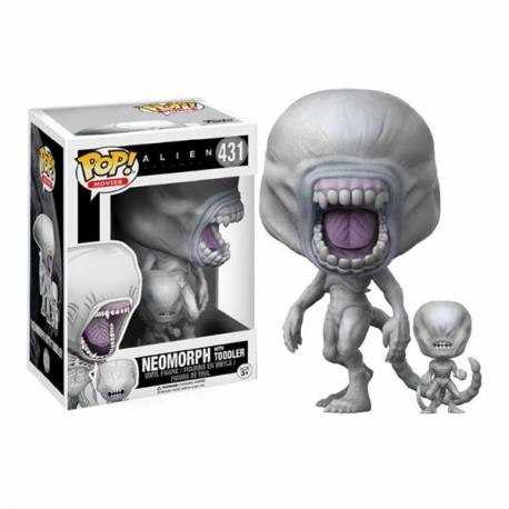 Figura Funko Pop Alien Covenant Neomorph With Toddler