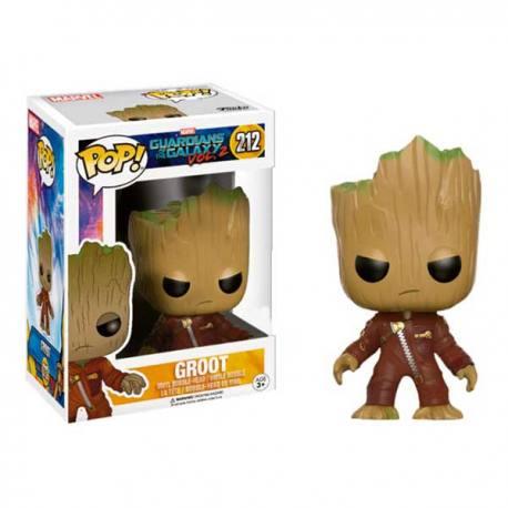 Figura Funko Pop Groot Guardianes de la Galaxia Vol. 2 - Exclusiva
