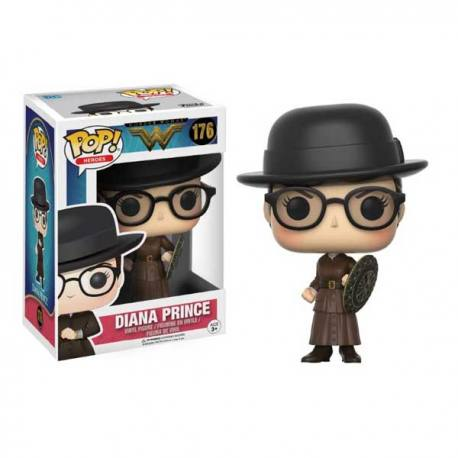 Figura Funko Pop Diana Prince Wonder Woman - Exclusiva