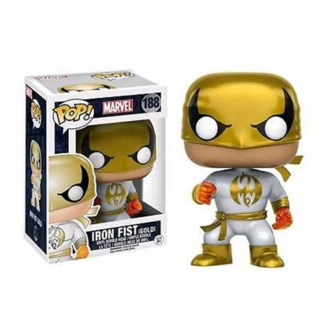 Figura Funko Pop Iron Fist Gold - Exclusiva