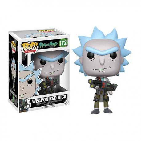 Figura Funko Pop Weaponized Rick - Rick And Morty