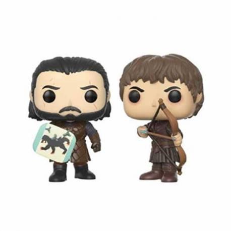 Pack Figuras Funko Pop Juego de Tronos Jon Snow y Ramsay Bolton