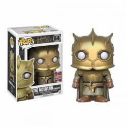 Funko Pop The Mountain Armoured Juego de Tronos - Exclusiva