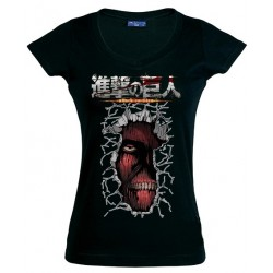 Camiseta Mujer Titan Inside Me - El Ataque a los Titanes