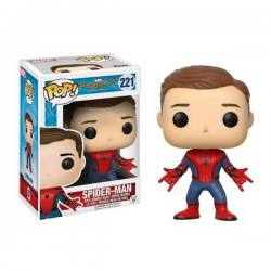 Figura Funko Pop Spiderman Unmasked Spider-Man Homecoming - Exclusiva
