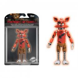Figura Foxy Five Nights at Freddy's - Exclusiva - Brilla en la Oscuridad
