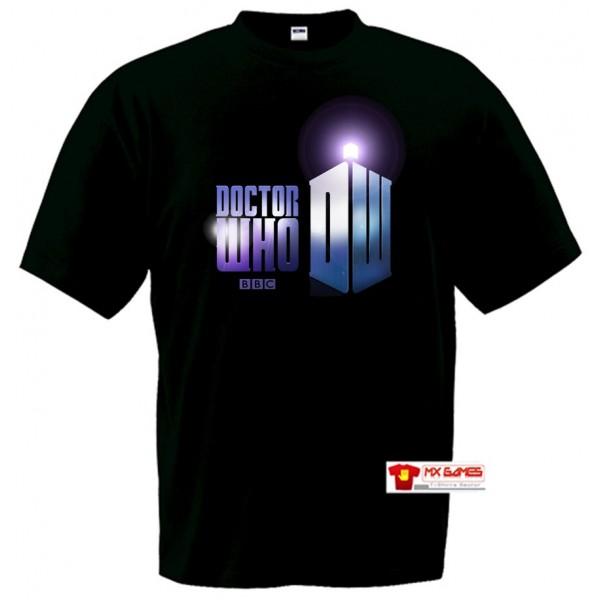 Camiseta Doctor Who Tardis 11º doctor
