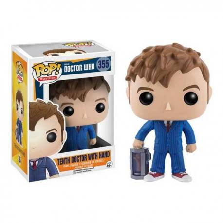 Figura Funko Pop Doctor Who 10th Doctor With Hand