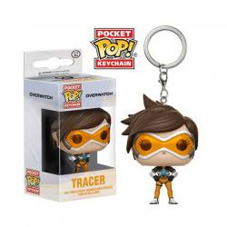 Llavero Pocket Pop Overwatch Tracer - Funko