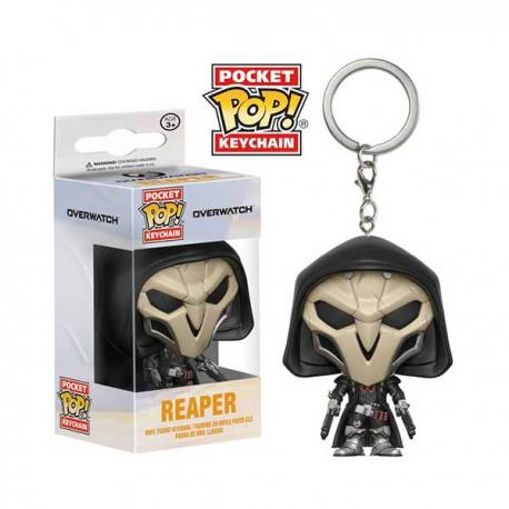 Llavero Pocket Pop Overwatch Reaper - Funko